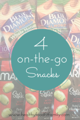 On the Go snacks for Moms and Kids